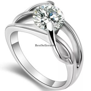 Jewelry - 2 carat CZ size 5.5 ring